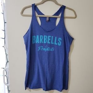 Tops - *3 for $10 tanks* Barbells and Ponytails